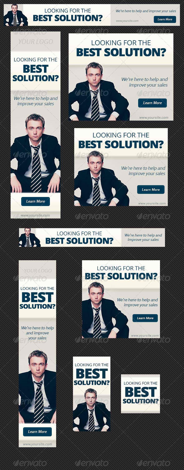 Business Solution Web Banner