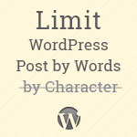 Limit post excerpt by words