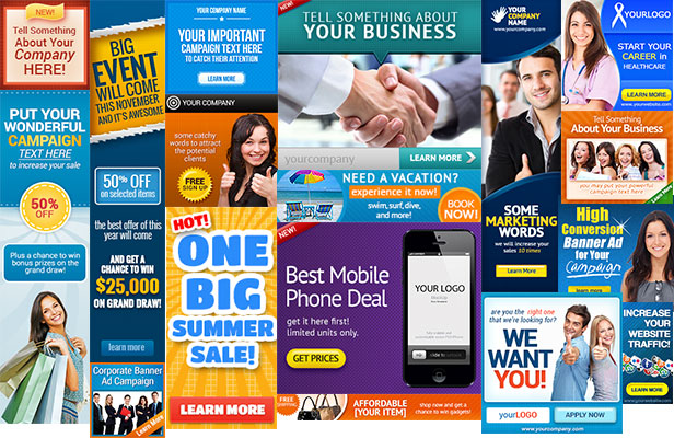 Premium Web Banner Design Templates for Corporate Use - monsterTUT